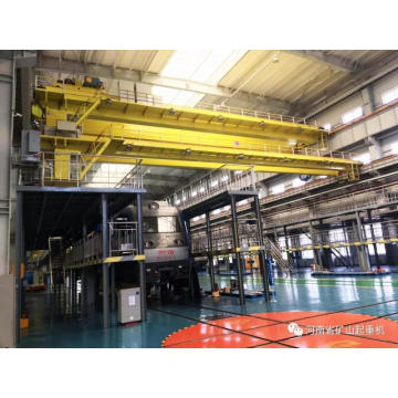 Electric double girder overhead crane